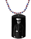 Military Dog Tag Event Merchandising
